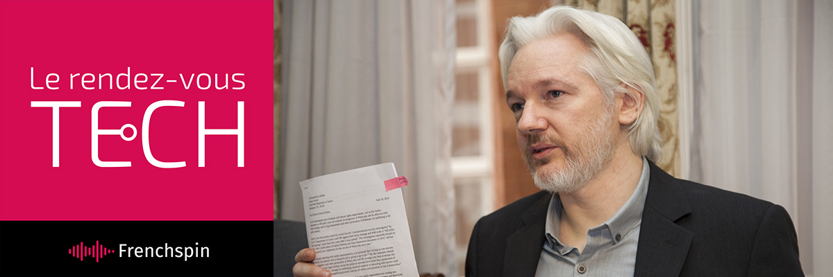 Le RDV Tech 293 – Alexa et Assange : tout comprendre